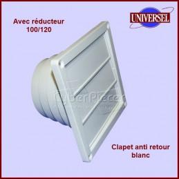 Clapet anti retour blanc Multi diametres CYB-002462