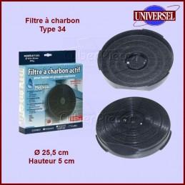 Filtre à charbons Type 34 CYB-002738