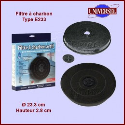 Filtre à charbon Type E233 CYB-002752