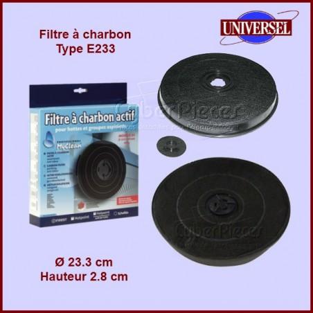 Filtre à charbon Type E233