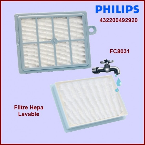 Filtre Hepa FC8031 - 432200492920