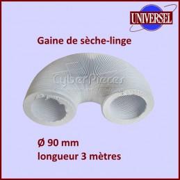 Gaine PVC de sèche-linge diamètre 90mm longueur 3mètres CYB-002530