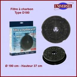 Filtre à charbon Type D180...