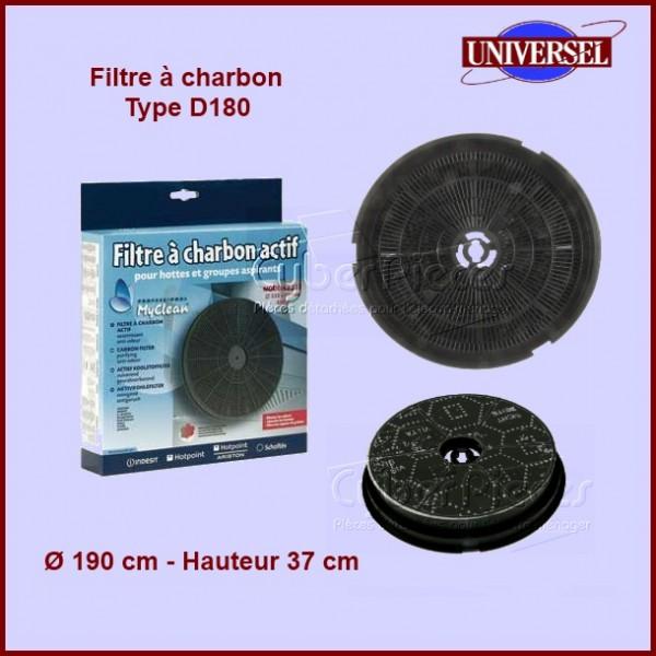 Filtre à charbon Type D180 - CR300