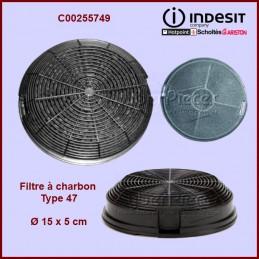 Filtre à charbon Type 47