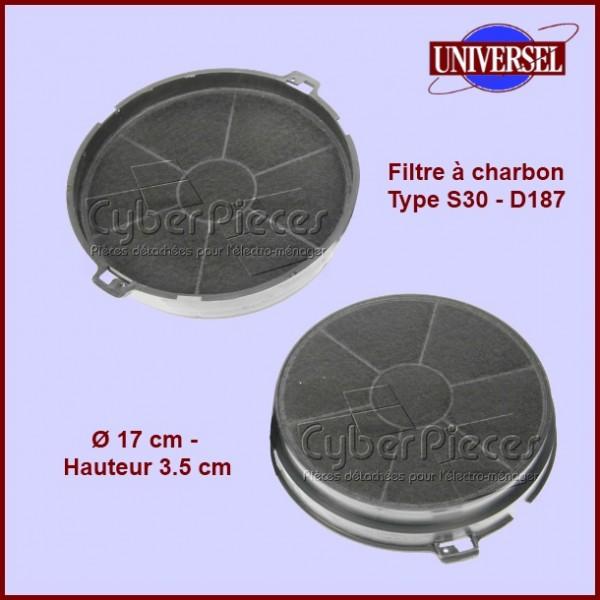 Filtre à charbon Type S30 - D187