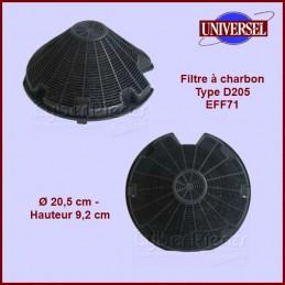 Filtre à charbon Type D205...