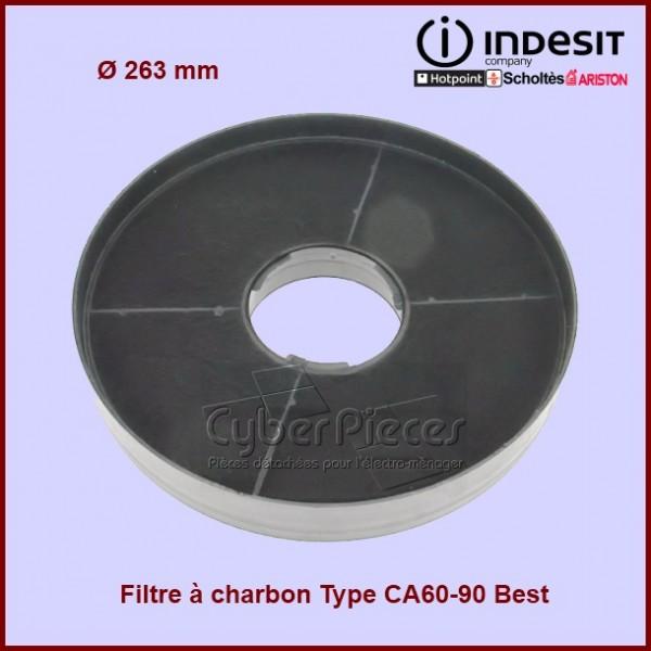Filtre à charbon Type CA60-90 Best Indesit C00013838