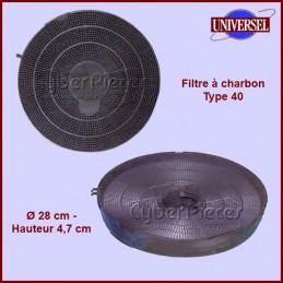 Filtre à charbon Type 40 CYB-002745