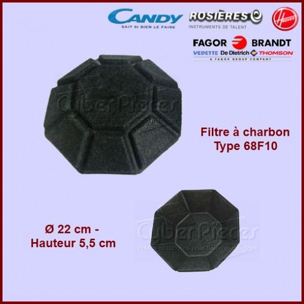 Filtre à charbon Type 68F10***épuisée***