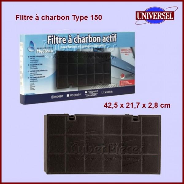 filtre charbon type 150 pour filtres a charbons hottes cuisson pieces detachees electromenager. Black Bedroom Furniture Sets. Home Design Ideas