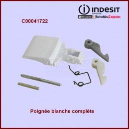 Poignée blanche complète Indesit C00041722 CYB-007016