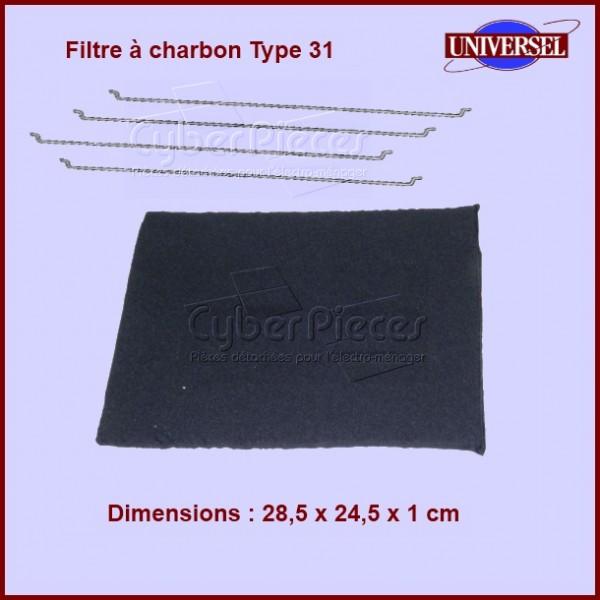Filtres à charbon Type 31 (AMH290)