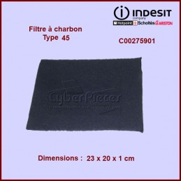 Filtre à charbon Type 45 CYB-002899