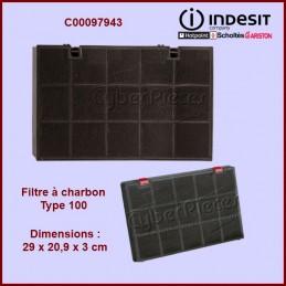 Filtre à charbon Type 100