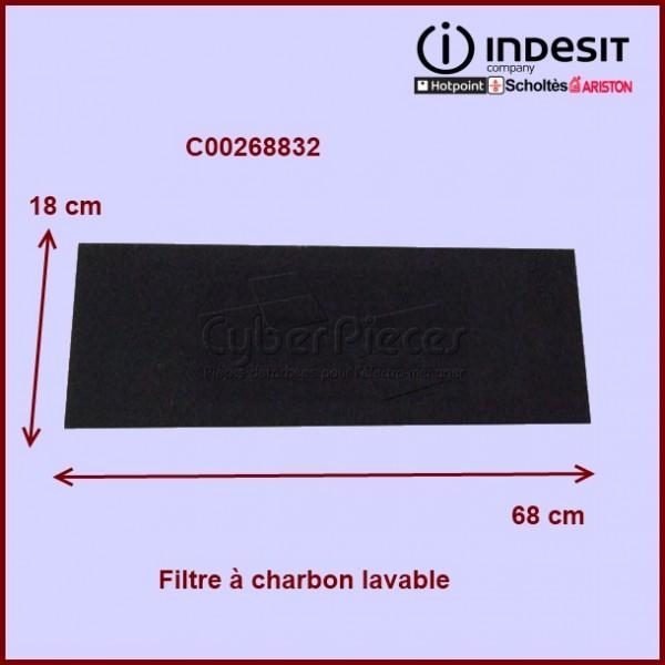 filtre charbon c00268832 pour filtres a charbons hottes cuisson pieces detachees electromenager. Black Bedroom Furniture Sets. Home Design Ideas