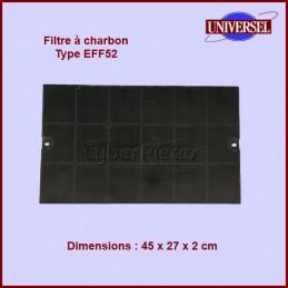 Filtre à charbon Type EFF52...