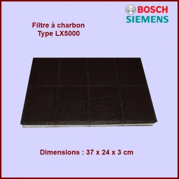 Filtre à charbon Type LX5000 - 00460008