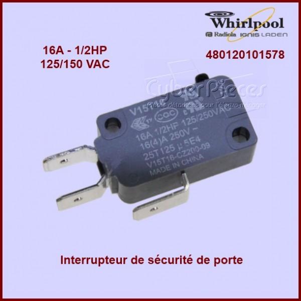 Interrupteur de sécurité de porte 480120101578