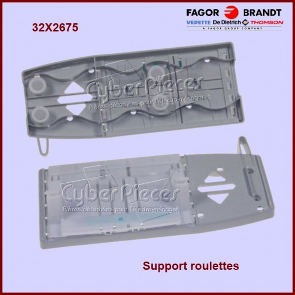Support Roulettes Brandt 32X2675
