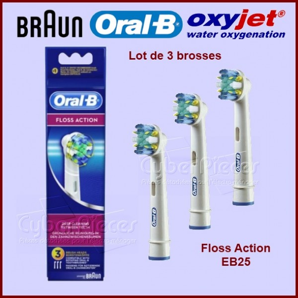 Brosse à dents FLOSS ACTION - EB25 / 64708766