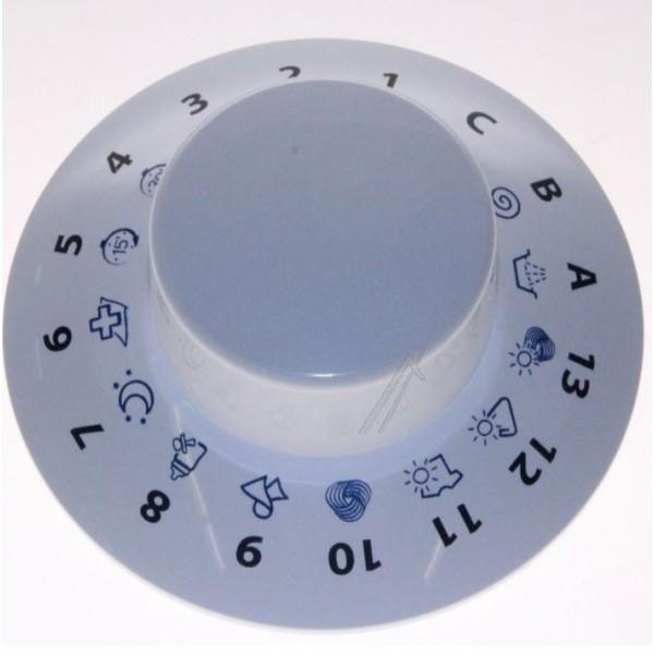 bouton blanc programmateur arm prne02 264221 pour machine. Black Bedroom Furniture Sets. Home Design Ideas