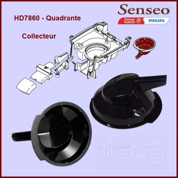 Collecteur Senseo HD7860