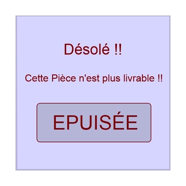 POIGNEE DE PORTE BLANCHE BRANDT 41X2563***épuisé***