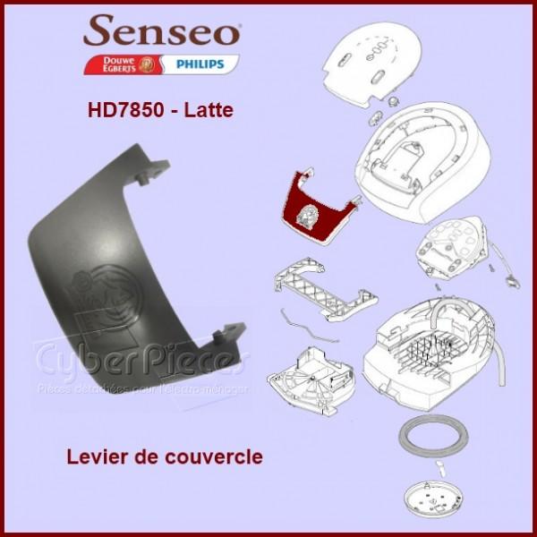 Levier Plastique de couvercle Senseo HD7850 - 422224758300***EPUISE***