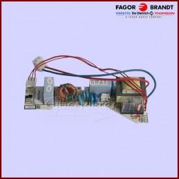 Carte filtre de plaque à induction Type 7942-1721/1 BRANDT 77X3746 CYB-248181