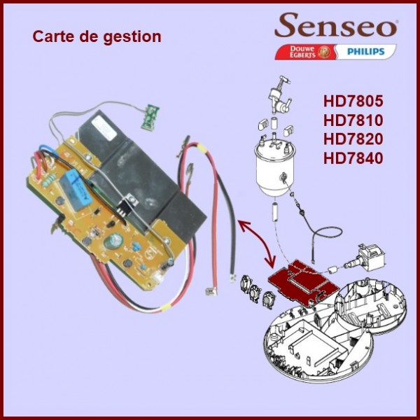 Carte de gestion Senseo - 422225952711