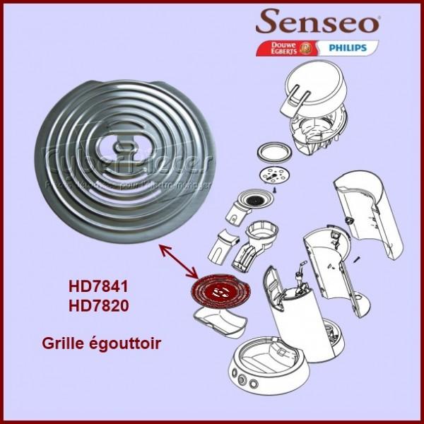 Grille inox Senseo - 422224005940