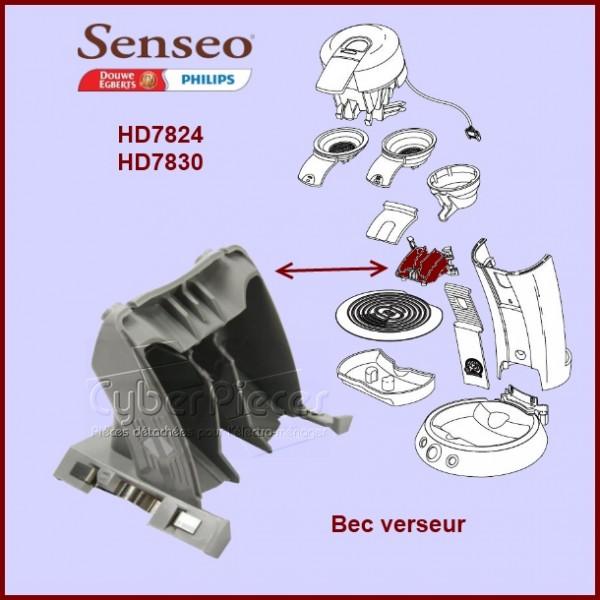 distributeur gris sens o 422225937920 pour senseo machine a dosettes petit electromenager. Black Bedroom Furniture Sets. Home Design Ideas