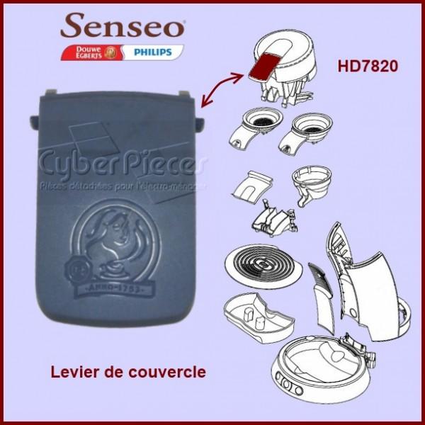 levier de couvercle bleu senseo 422224760730 pour senseo. Black Bedroom Furniture Sets. Home Design Ideas