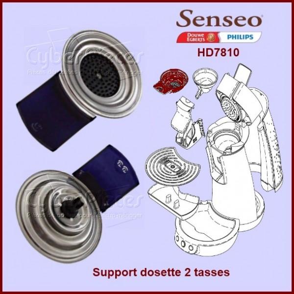 Support dosette 2 tasses Senseo Bleu Nuit - 422225934730