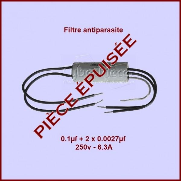 Antiparasite 0,1μf + 2x0,0027μF / 250V - 6,3A