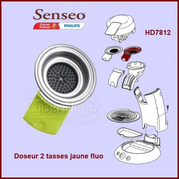 Doseur 2 tasses Jaune Fluo Senseo - 422225934010