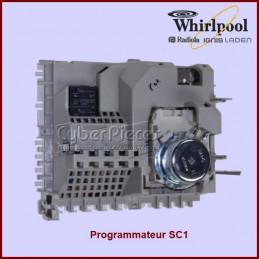 Carte électronique SC1 vierge Whirlpool 481228210219 GA-062916