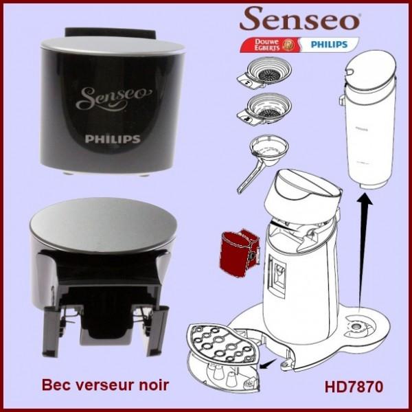 Bec verseur noir Senseo - 422225953432