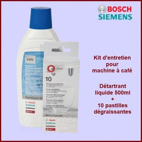 Kit de nettoyage cafetière 00311813
