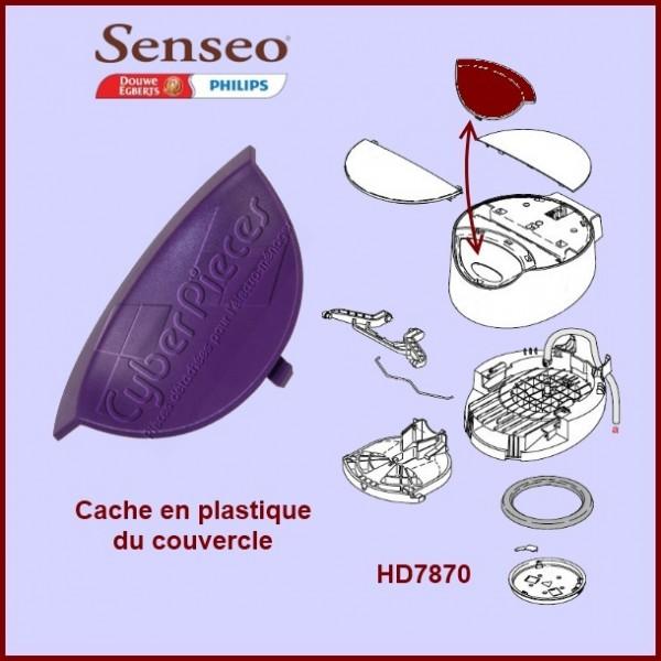 Cache en plastique violet Senseo - 422224769901