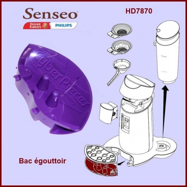 Bac égouttoir violet Senseo - 422224769971