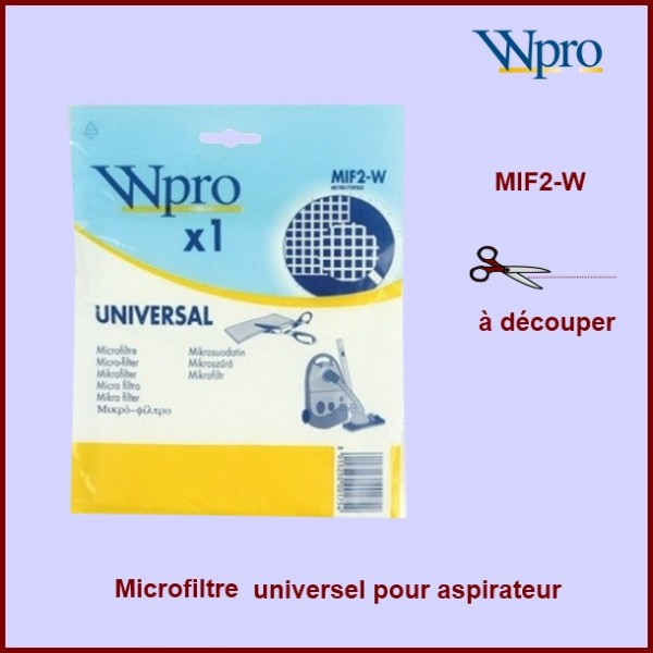 Micro filtre universel MIF2-W / 481981729202