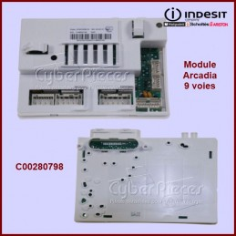Carte électronique ARCADIA 9 voies Indesit C00280798 GA-349451