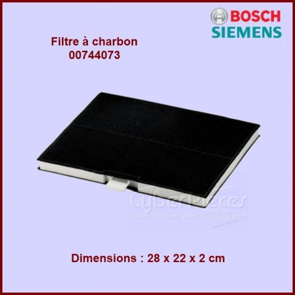 Filtre à charbon Bosch - 00744073