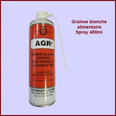 Graisse blanche alimentaire atomiseur 400 ML