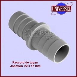 Jonction 22X17 mm pour tuyau de vidange CYB-001700