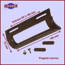 Poignée universelle marron - 199 x 73 mm CYB-023979