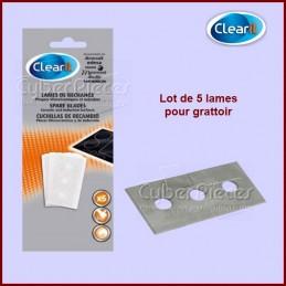 Lot de 5 Lames pour grattoir vitrocéramique CYB-237291