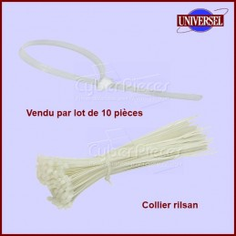 Lot de 10 Colliers RILSAN 2,5/3 X 100 mm CYB-001939